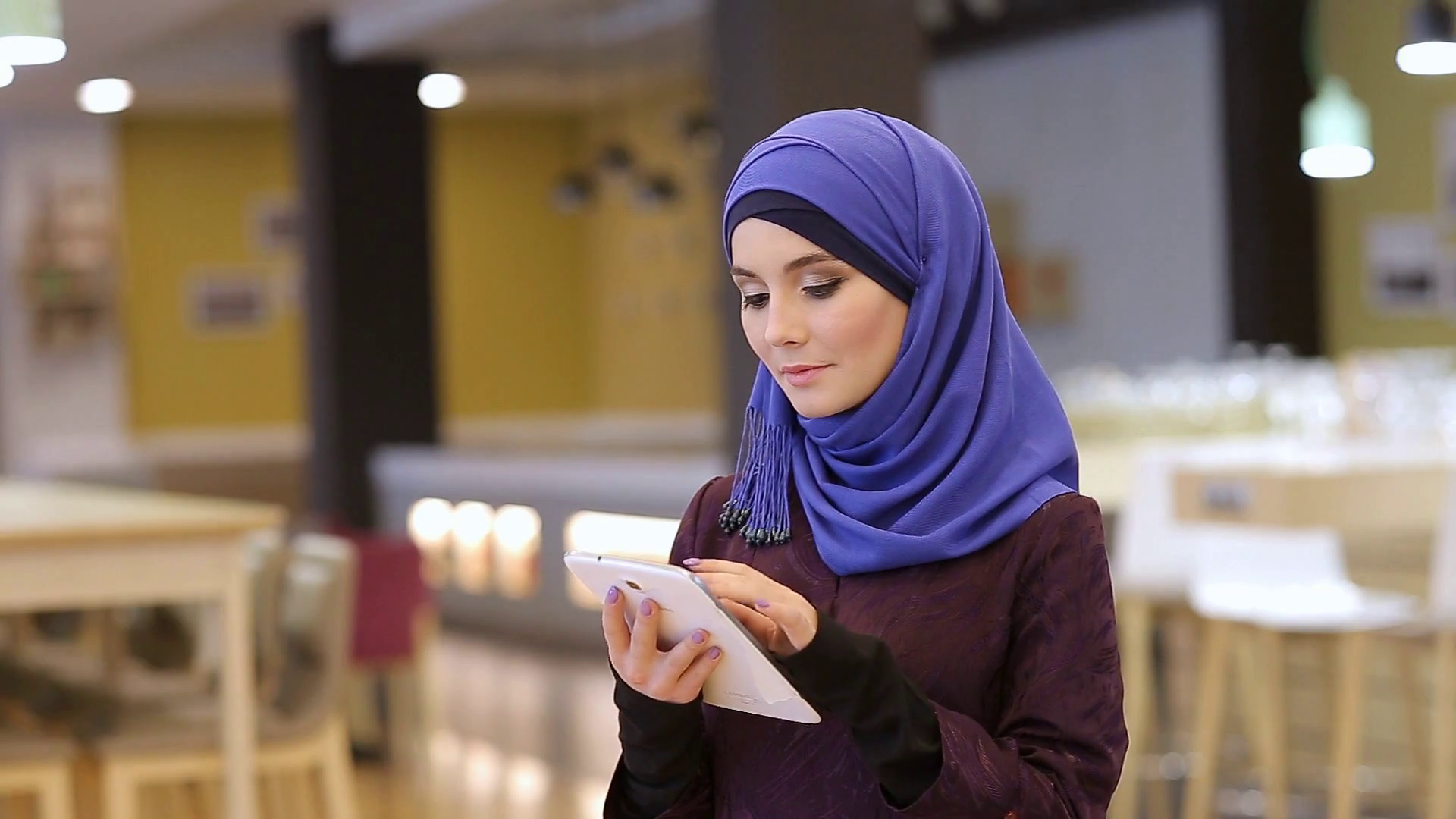 Muslim Girl Student